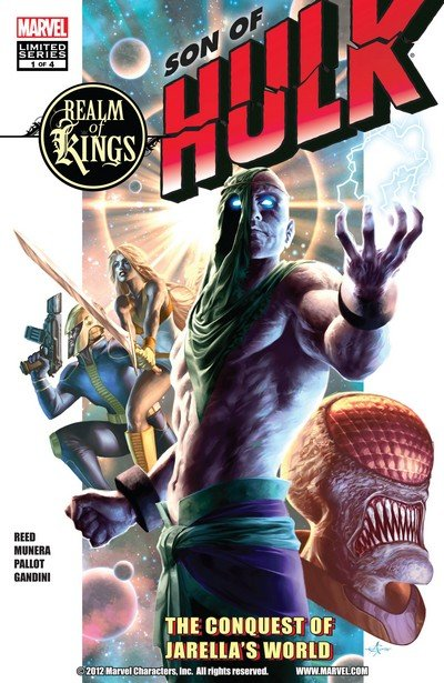 Realm of Kings – Son of Hulk #1 – 4 (2010)