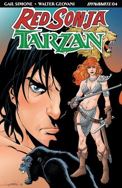 Red Sonja – Tarzan #4 (2018)