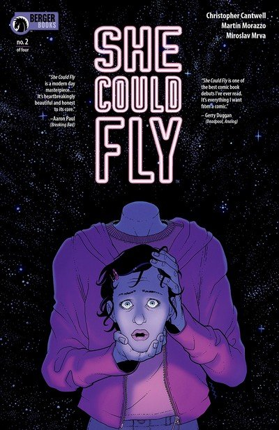 She Could Fly #2 (2018)