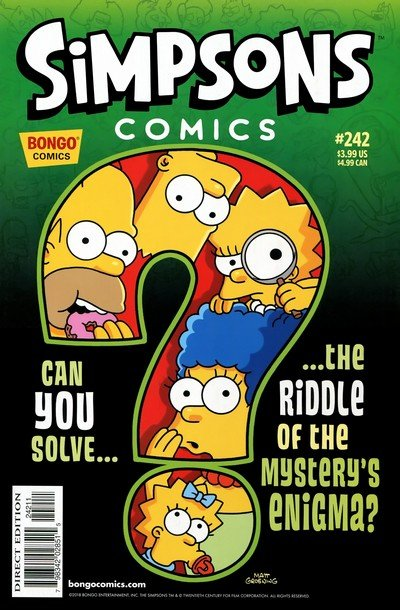 Simpsons Comics #242 (2017)
