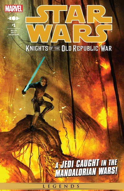 Star Wars – Knights of the Old Republic – War #1 – 5 (2015) (Marvel Edition)