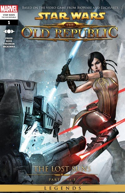 Star Wars – The Old Republic – The Lost Suns #1 – 5 (2015) (Marvel Edition)