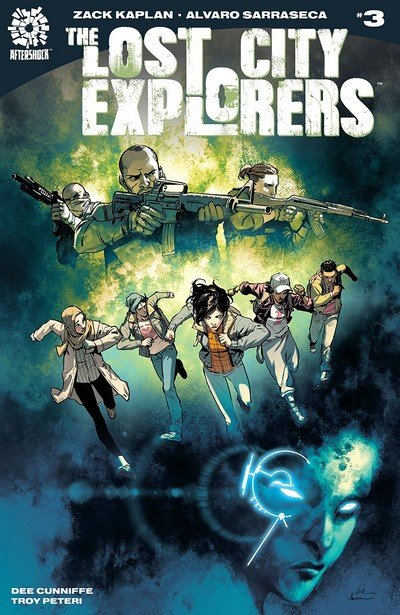 The Lost City Explorers #3 (2018)