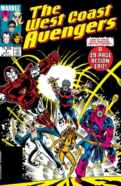 West Coast Avengers (Collection) (1984-1994)