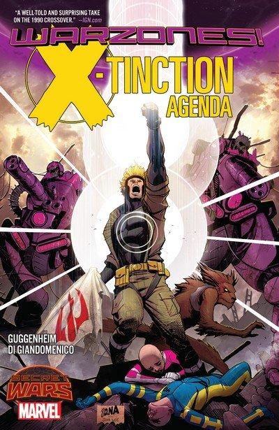 X-Tinction Agenda – Warzones! (TPB) (2016)