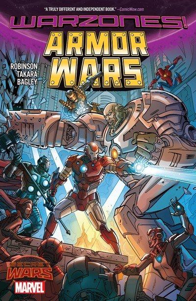 Armor Wars – Warzones! (TPB) (2016)
