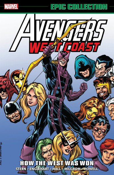 Avengers West Coast Epic Collection – How The West Was Won (TPB) (2018)