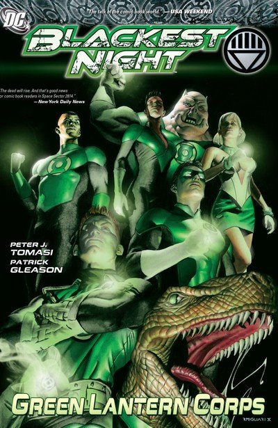 Blackest Night – Green Lantern Corps (TPB) (2010)