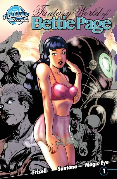 Fantasy World of Bettie Page #1 – 4 (2016-2018)