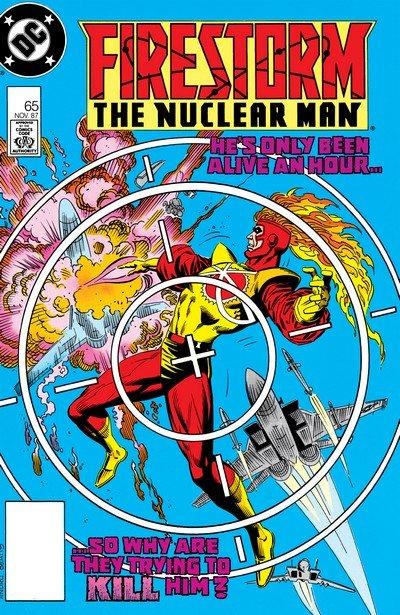 Firestorm, The Nuclear Man #65 – 100 (1987-1990)