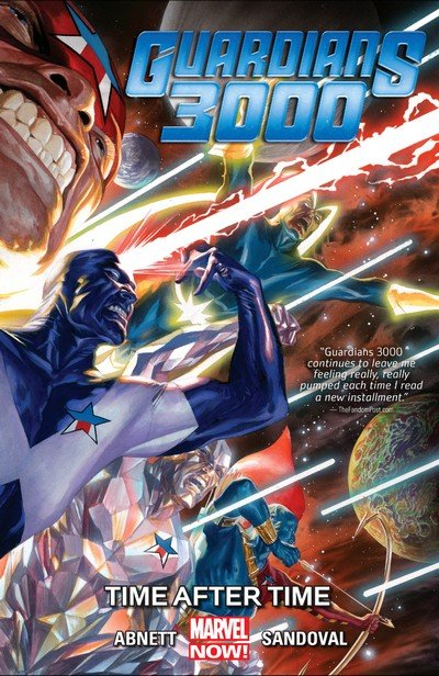Guardians 3000 Vol. 1 – Time After Time (TPB) (2015)
