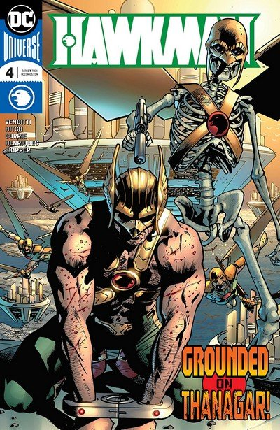 Hawkman #4 (2018)