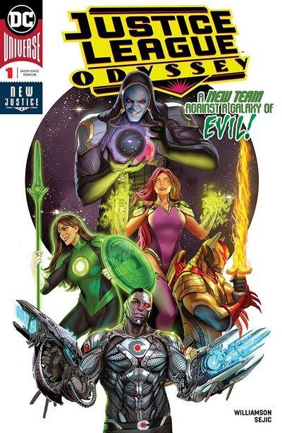 Justice League Odyssey #1 (2018)