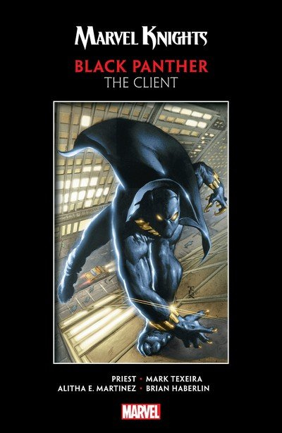 Marvel Knights Black Panther by Priest & Texeira – The Client (TPB) (2018)