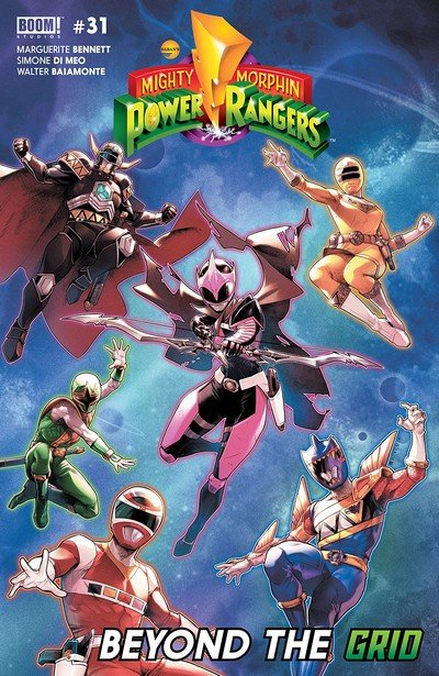 Mighty Morphin Power Rangers #31 (2018)