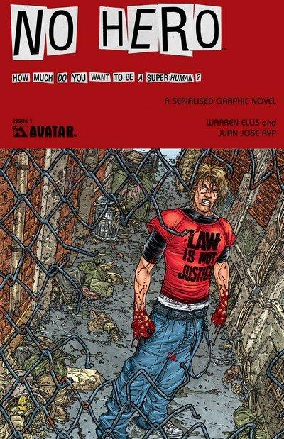 No Hero #0 – 7 (2008-2009)
