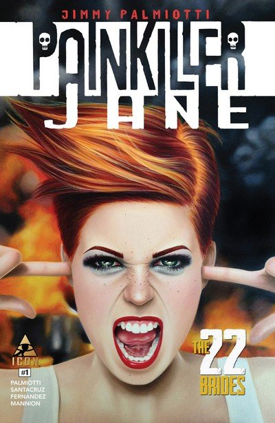 Painkiller Jane – The 22 Brides #1 – 3 (2014)