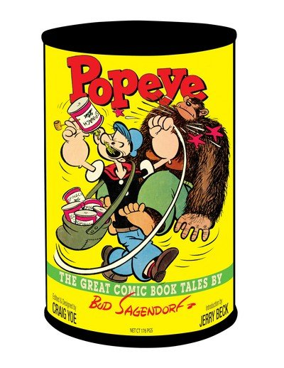 Popeye – The Great Comic Book Tales by Bud Sagendorf (2010)