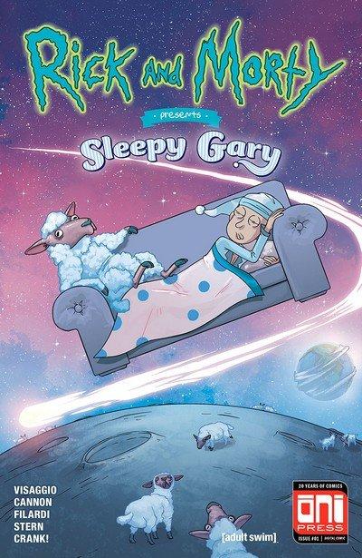 Rick And Morty Presents #3 – Sleepy Gary (2018)