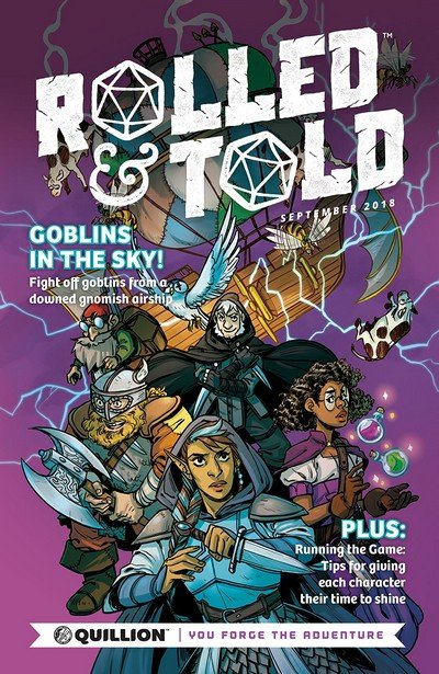 Rolled & Told #1 (2018)