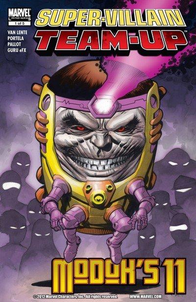 Super-Villain Team-Up – M.O.D.O.K.'s 11 #1 – 5 (2007)