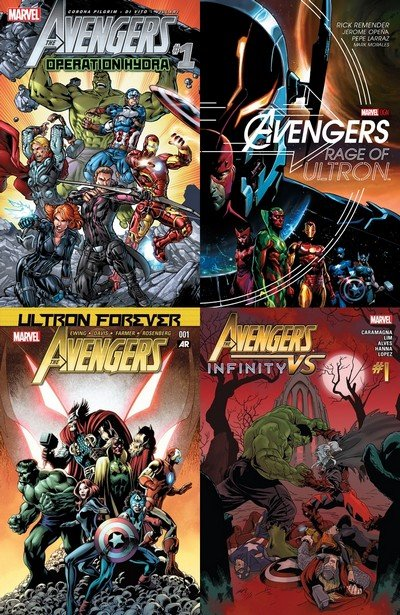The Avengers – Limited Series, One Shots & Spinoffs (Ultimate Collection) (1984-2018)