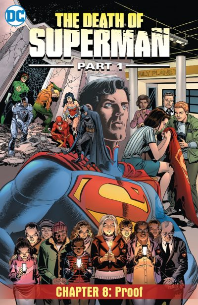 The Death of Superman, Part 1 #8 (2018)