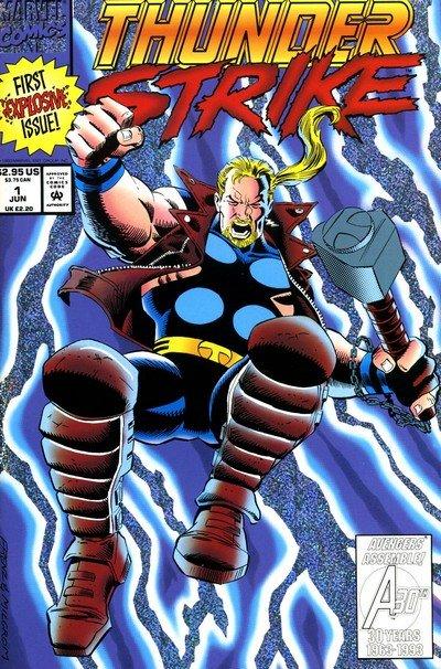 Thunderstrike Vol. 1 #1 – 24 (1993-1995)