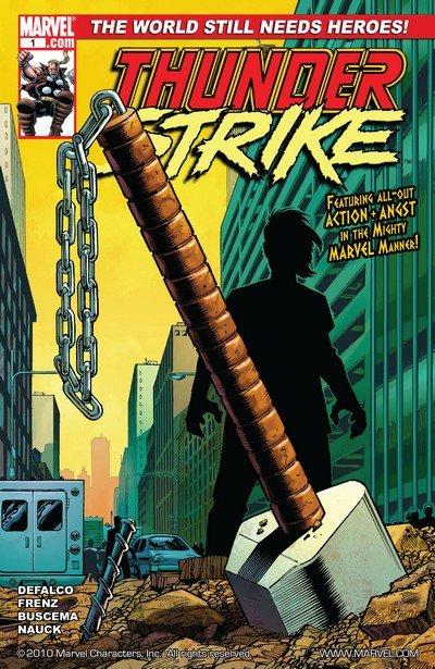 Thunderstrike Vol. 2 #1 – 5 (2010-2011)