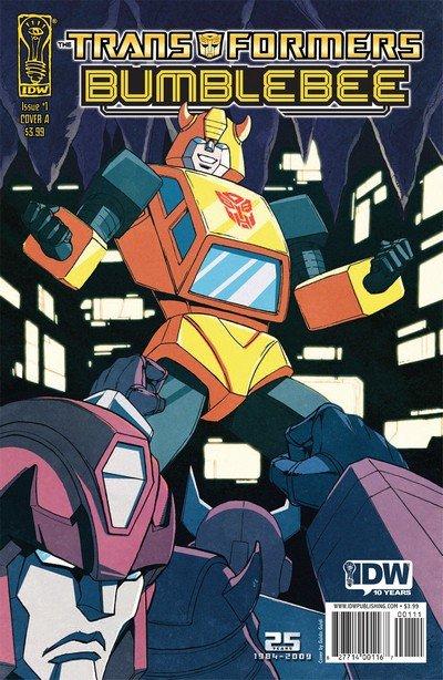 Transformers – Bumblebee #1 – 4 (2009-2010)