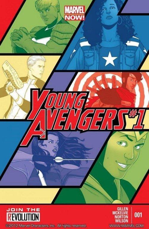 Young Avengers Vol. 2 #1 – 15 + TPB Vol. 1 – 3 (2013-2015)