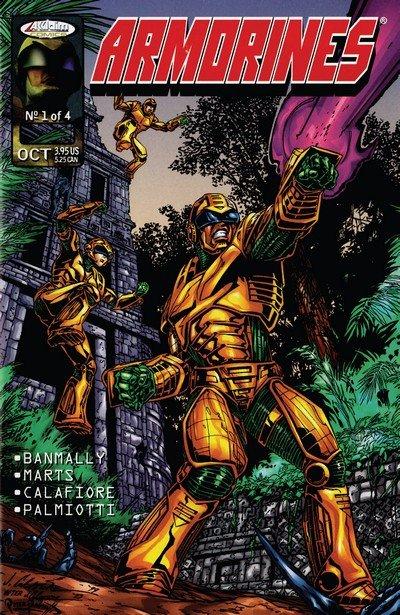 Armorines Vol. 2 #1 – 4 (1999-2000)