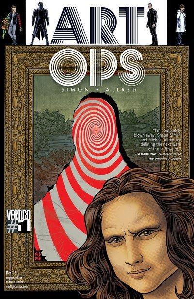 Art Ops #1 – 12 (2015-2016)