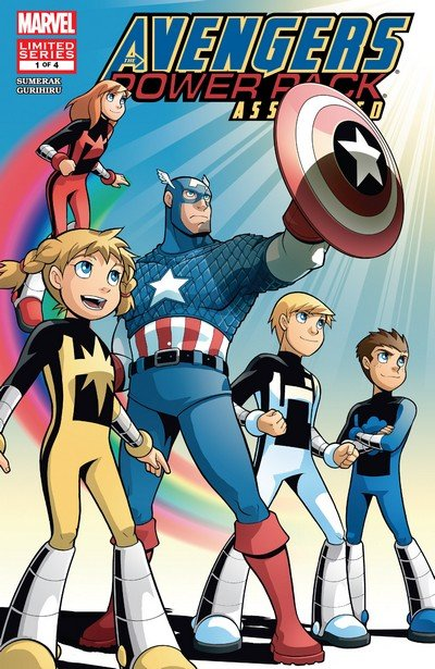 Avengers and Power Pack Assemble! #1 – 4 (2006-2007)