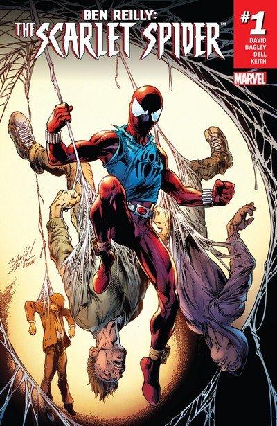 Ben Reilly – The Scarlet Spider #1 – 25 + TPBs (2017-2019)