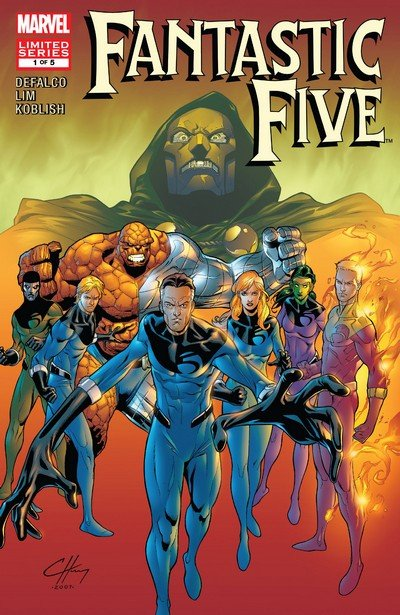 Fantastic Five #1 – 5 (2007)