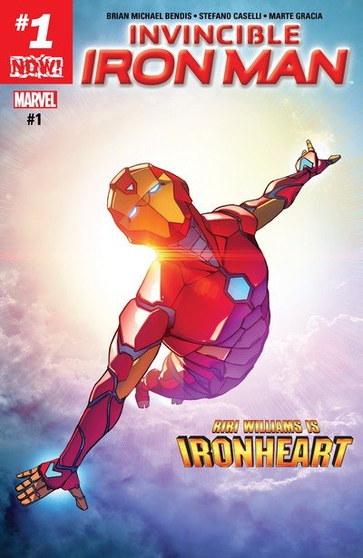 Invincible Iron Man Vol. 3 #1 – 11 + 593 – 600 (2017-2018) (And continued Vol. 1)
