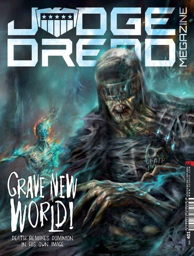 Judge Dredd Megazine #401 (2018)