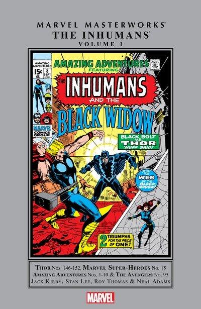 Marvel Masterworks – The Inhumans Vol. 1 – 2 (2009-2010)