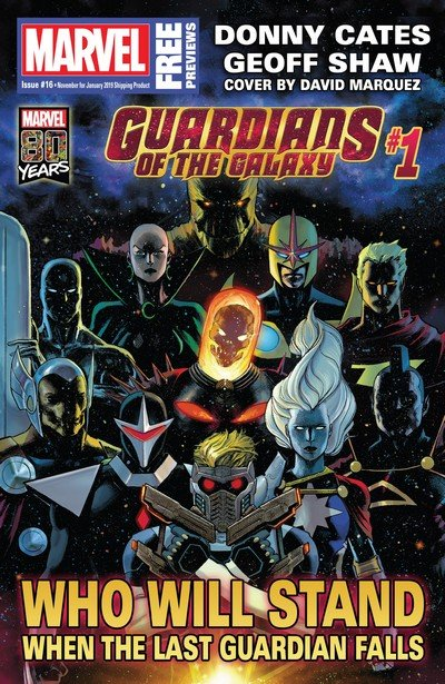 Marvel Previews #16 (Nov 2018 for Jan 2019)