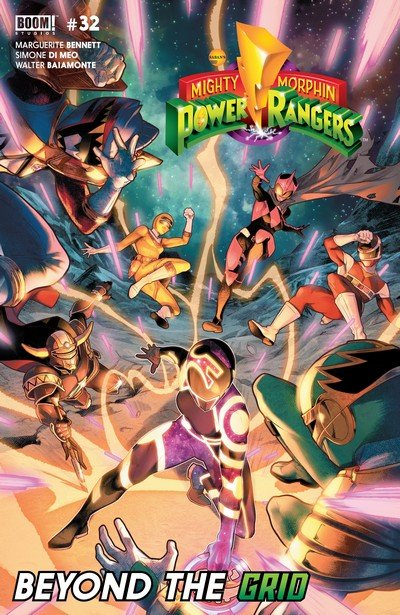 Mighty Morphin Power Rangers #32 (2018)