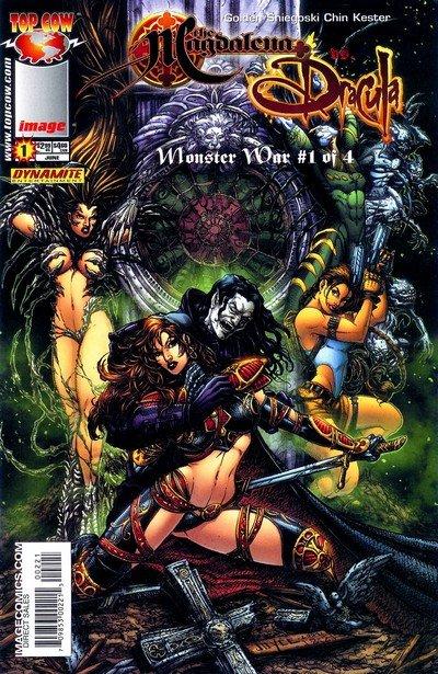 Monster War #1 – 4 (2005)