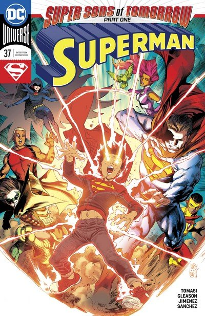 Super Sons of Tomorrow (Story Arc) (2018)