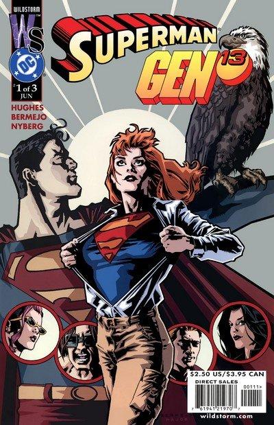 Superman – Gen13 #1 – 3 (2000)