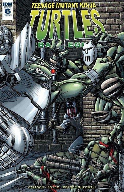 Teenage Mutant Ninja Turtles – Urban Legends #6 (2018)