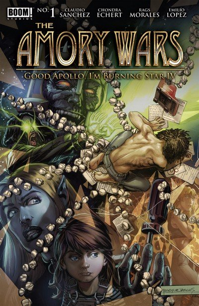 The Amory Wars – Good Apollo, I'm Burning Star IV #1 – 12 + TPBs (2017-2018)