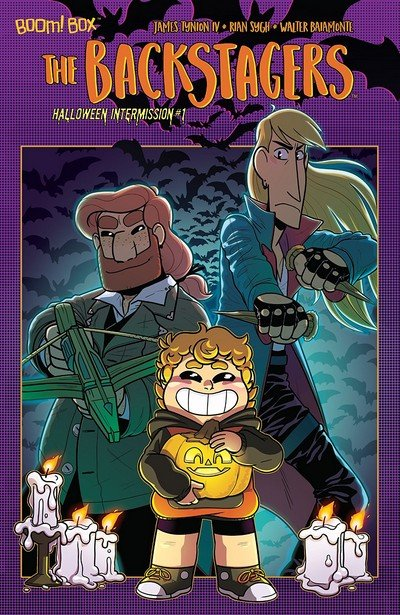 The Backstagers Halloween Intermission #1 (2018)