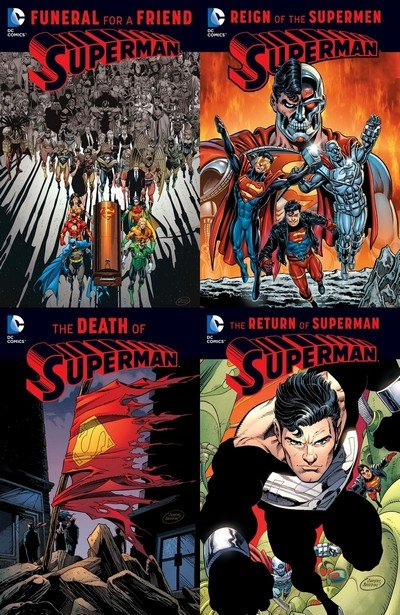 The Death Of Superman Comic Book