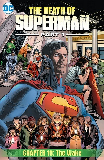 The Death of Superman, Part 1 #10 (2018)