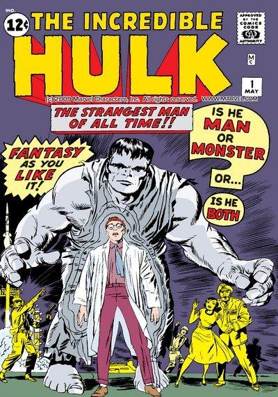 The Incredible Hulk Vol. 1 #1 – 6 (1962-1963)